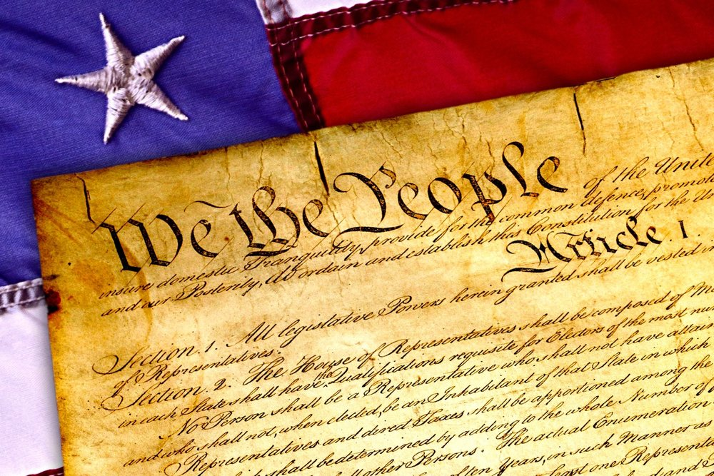 We the people preamble to the U. S. Constitution