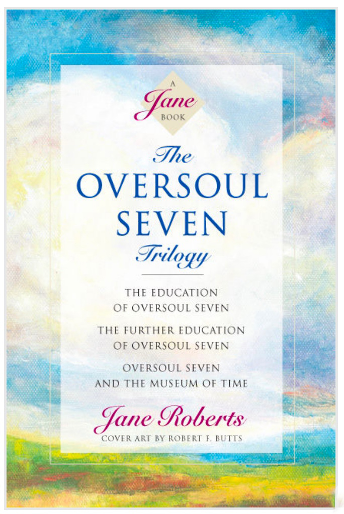 The front cover of The Oversoul Seven Trilogy by Jane Roberts