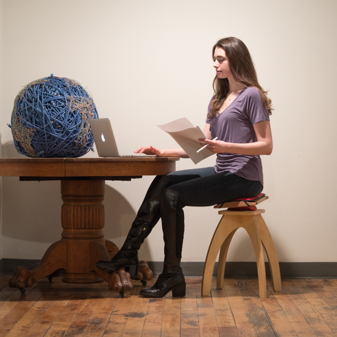 Simple, perfect posture and constant motion: pain-free sitting made easy.