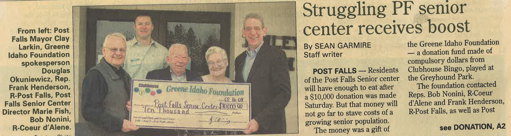 PF Senior Center Donation Article.png