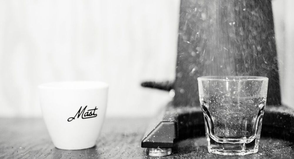 Mast Coffee Co Grinder