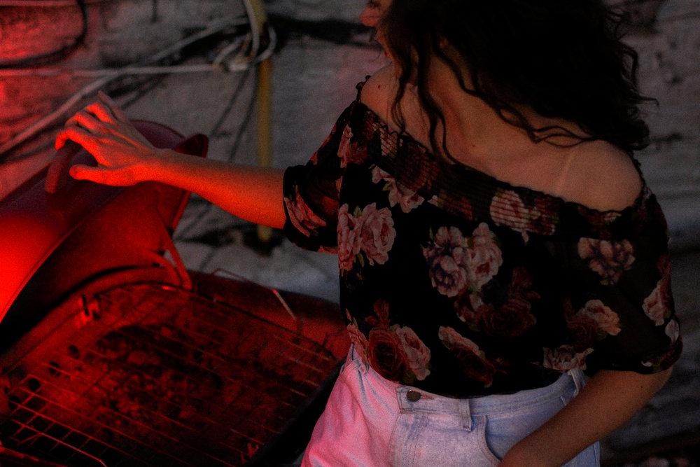 A midsummer night's heat by Sabrina Sanchez