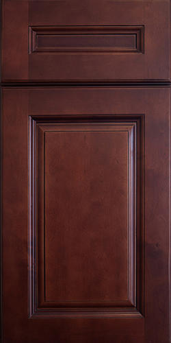 Dark Cherry Door