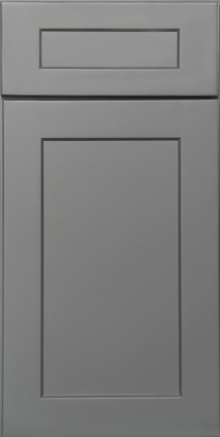 Grey Shaker Seamless Door