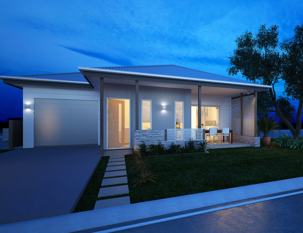 Lot 396 Vale   H & L $317,400 - 3 BED 2 BATH 1 CAR - 2700mm ceilings- 3 Colour Schemes- Driveway, landscaping and letterbox- 'Smart Villa' Inclusions
