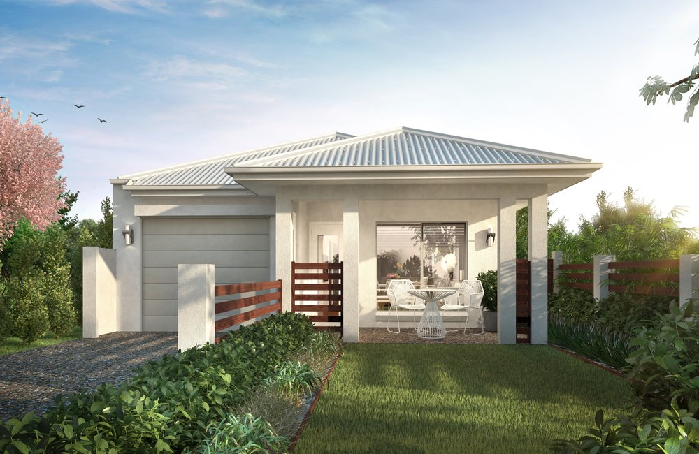Lot 542 Vale          H & L $359,500 - 3 BED 2 BATH 1 CAR- 2700mm high ceilings- 'Smart Villa' Inclusions- Steel frame