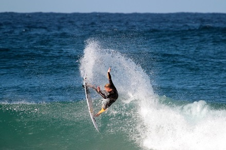 It has improved my surfing as a whole. Mostly improved overall balance and range of motion.I find making the drops on waves easier with better balance. Range of motion has made me feel more comfortable on my backhand which I was completely useless at before