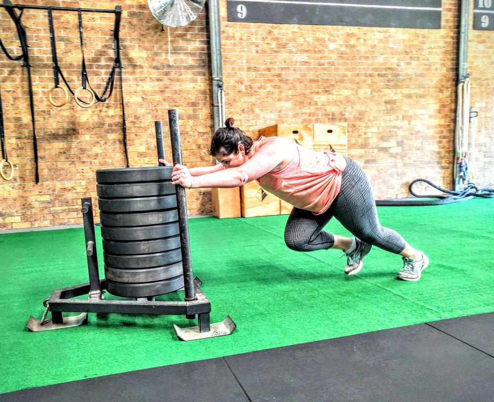 Louise Cripps Sled push.jpg