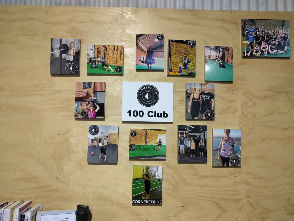 100 Club - Build consistency. Track progress. Get results.
