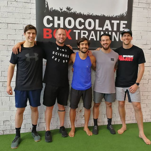 Awesome day spent learning from a couple of gurus @clint_hillstrength and @wade.farmer at their programming and periodisation workshop. So much more delivered than just what it looked like.  It was great to be able to take some of our coaches @sleish94 and @eliastrotti to learn from these guys and experience what the amazing @chocolateboxtraining has to offer. Definitely one of the best facilities I've been to. 🙏 New connections made 😍 Old connections reconnected 🤯 New knowledge found 👌 Old knowledge reaffirmed  Thanks for having us legends and to all the other coaches who made the experience really enjoyable.  When you get a room full of people with different back grounds, you get a unique perspective on everything which only adds to your development.  @michaelholt13 @vik_hawksley @lea_chiu @daleckistrength @keegan_smith