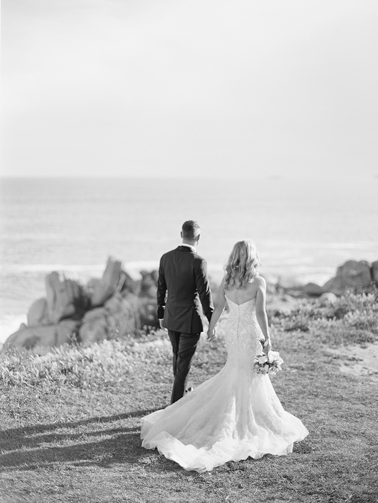 wedding-waverley estate-bride and groom walking near port elliot