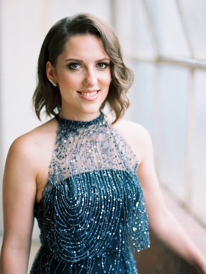 sparkly blue greta kate wedding gown adelaide
