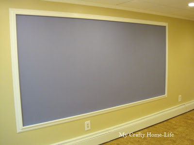 magnetic periwinkle chalkboard wall calling it home