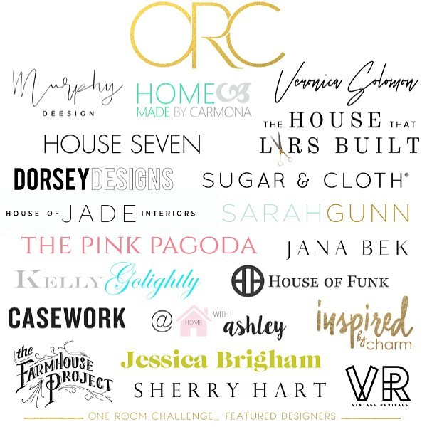 Here. We. Go. Six weeks, twenty brave and talented designers providing endless inspiration. Today is Week 1 of the #oneroomchallenge.  Have you had a chance to check out the projects?  Be sure to follow along 👇 and tomorrow....there's more!  @athomewithashley  @casavilora  @casework.it  @thefarmhouseproject  @homemadebycarmona  @houseoffunkdesign  @houseofjadeinteriors  @housesevendesign  @houselarsbuilt  @imjessicabrigham  @inspiredbycharm  @janabekdesign  @kellygolightly  @murphydeesign  @thepinkpagoda  @sarahgunnstyle  @sarahmdorseydesigns  @sherryhdesigns  @sugarandcloth  @vintagerevivals  @betterhomesandgardens  @oneroomchallenge  #BHGORC