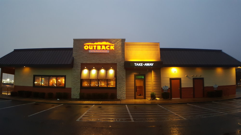 Outback Steakhouse remodel