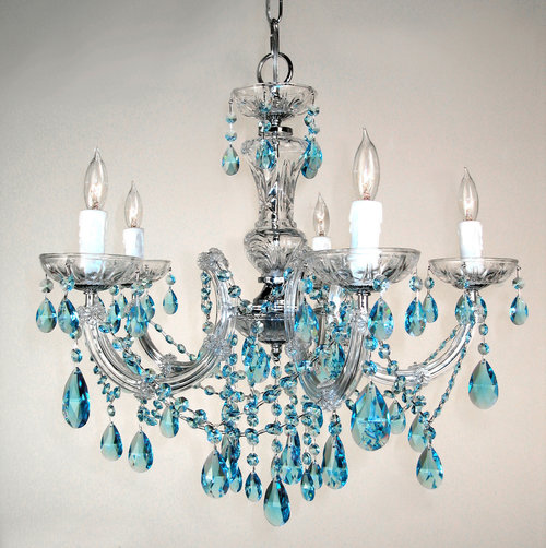 Rialto traditional crystal chandelier in chrome mcnatt electric rialto traditional crystal chandelier in chrome mozeypictures Choice Image