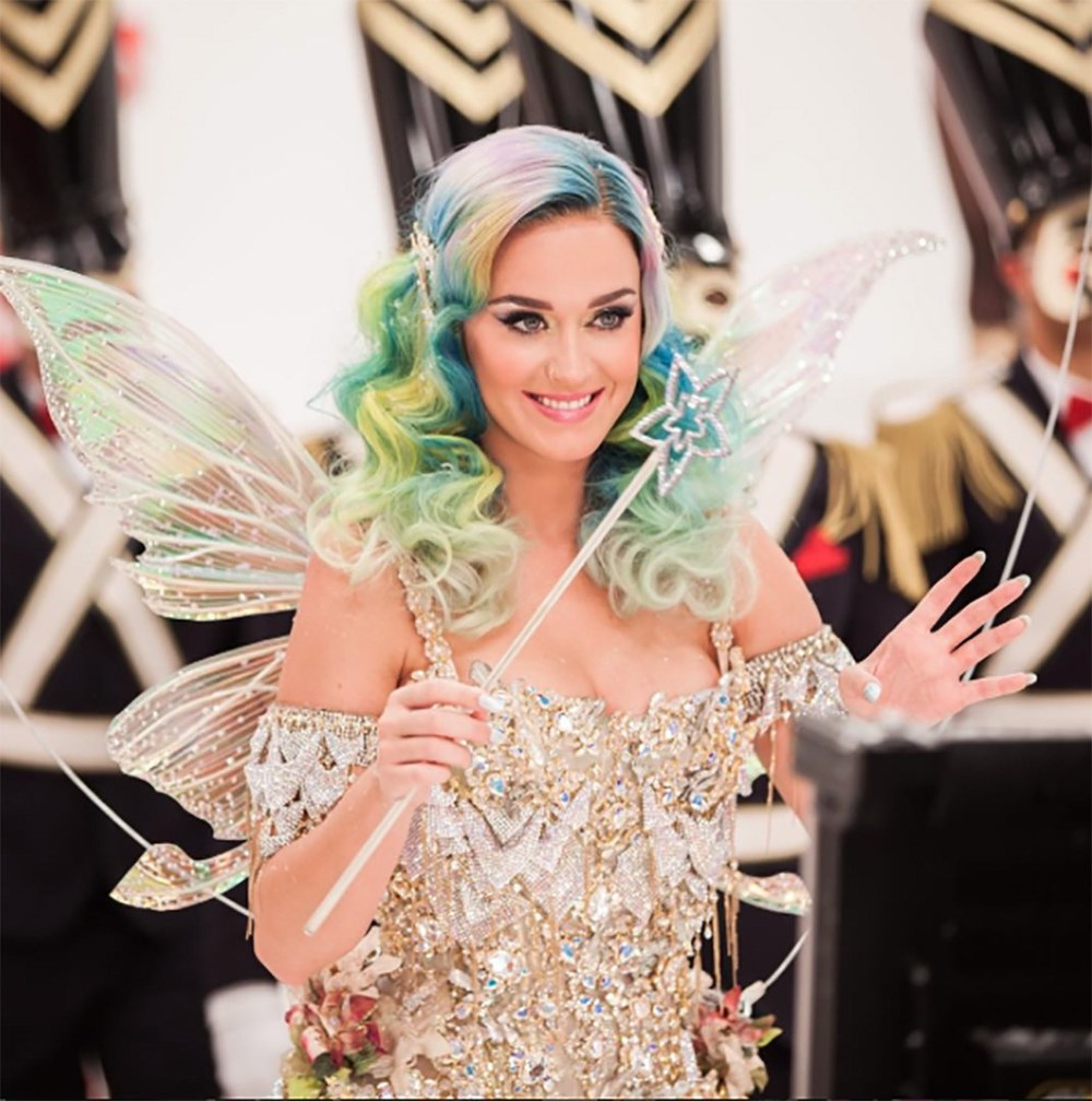 Katy Perry raised eyebrows when she appeared as a special guest during the IPL. Photo: Getty Images.