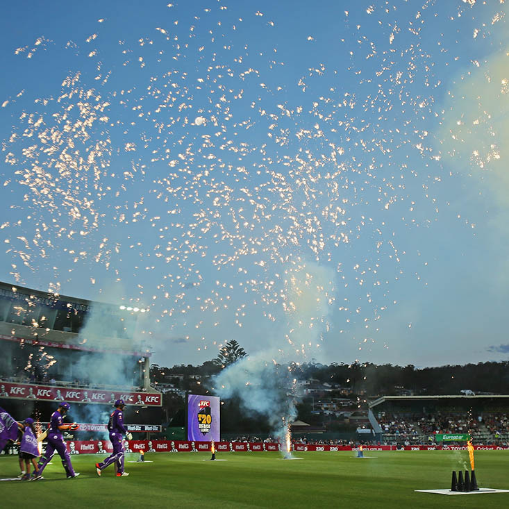 Welcome to Big Bash League cricket where there is excitement everywhere you look. Picture: Getty Images