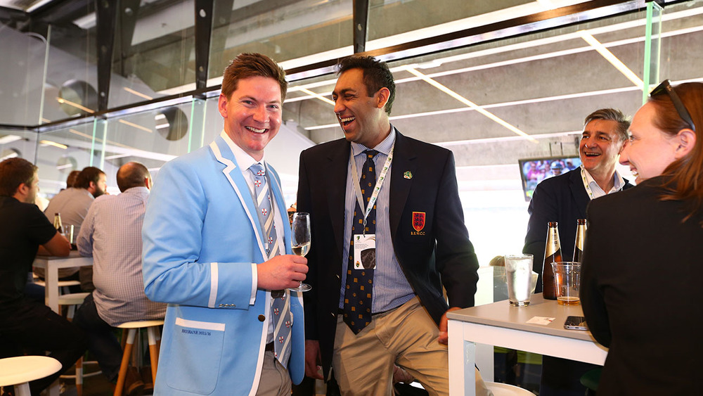 It's a more formal affair in the MCC Members area. Photo: Getty Images.