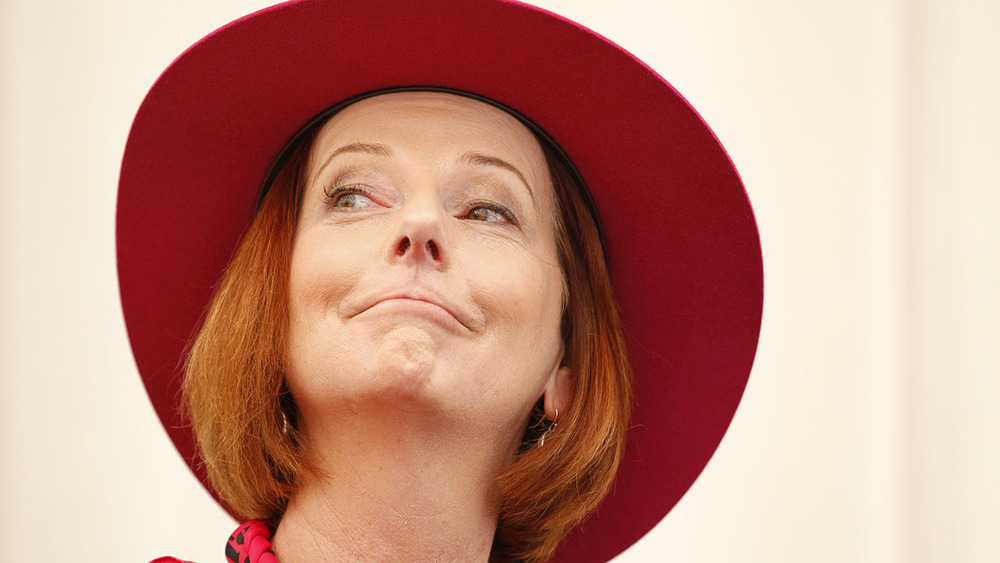 Former Prime Minister Julia Gillard is a major supporter of the Pink Test High Tea event. Photo: Getty Images.