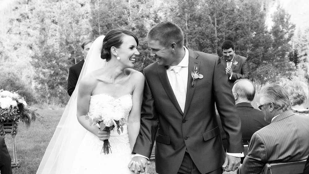 Maria & james Hopes met on a whirlwind trip in Europe. Photo: Sourced.