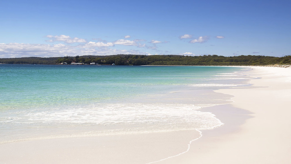 Hyams Beach on the South Coast of New South Wales has some of the whitest sand in the world. Photo: iStock