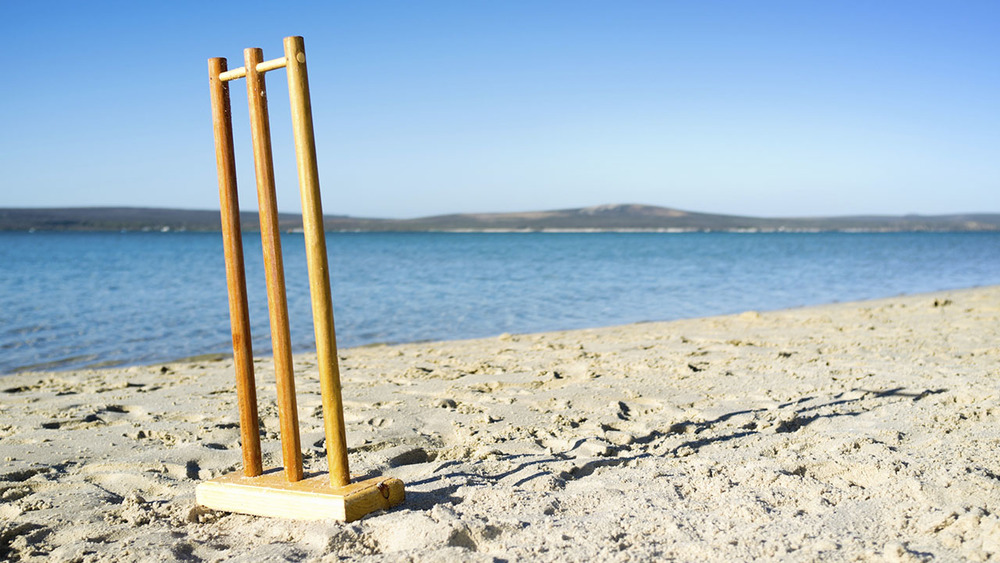 Each year thousands of people around Australia take to the shores for a game of beach cricket. Photo: istock