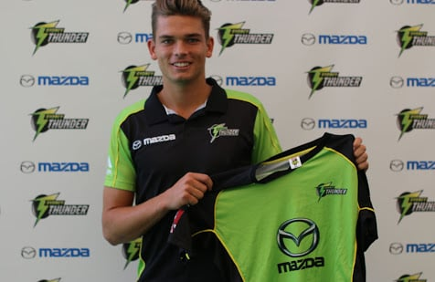 Meet Chris Green from Big Bash Team Sydney Thunder. Photo: Getty Images.