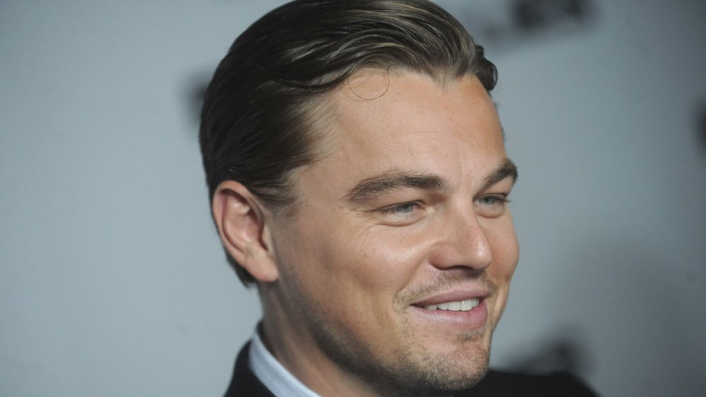 Leonardo Dicaprio stars in the movie The Beach which features beach cricket. Photo: Getty Images.