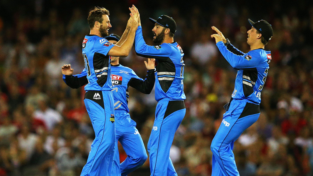 The Adelaide Strikers have landed on top of the BBL ladder. Photo: Getty Images.