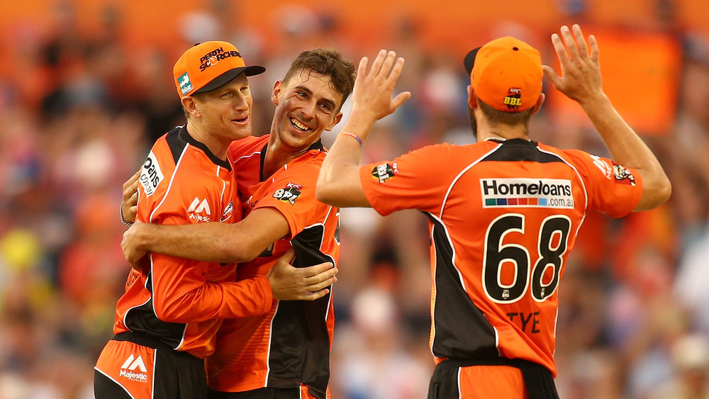 The Perth Scorchers have a good track record when it comes to semi final wins. Photo: Getty Images.