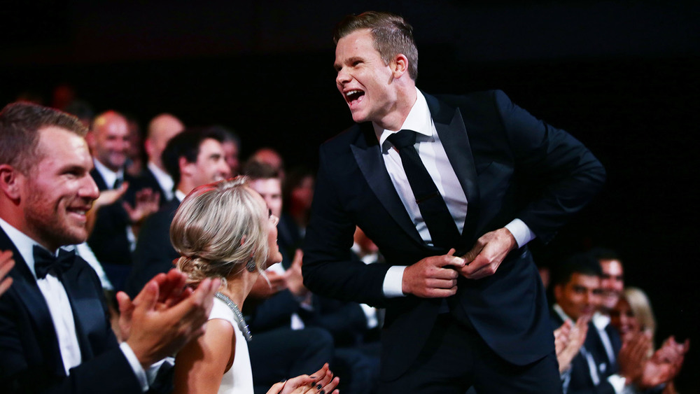 Australian Men's Captain Steve Smith was the winner of the Allan Border Medal in 2015. Photo: Getty Images.