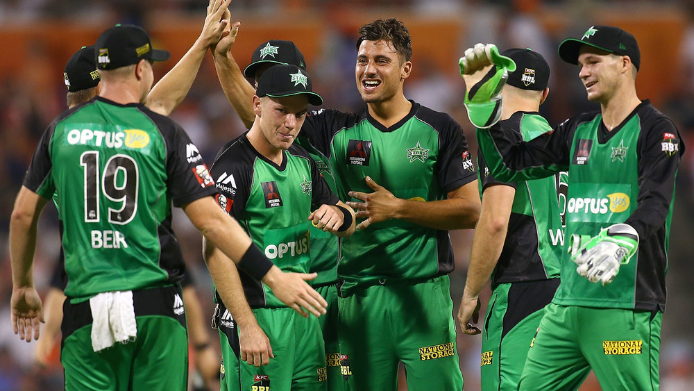Melbourne stars will host the Big Bash Final at the MCG. Photo: Getty Images.