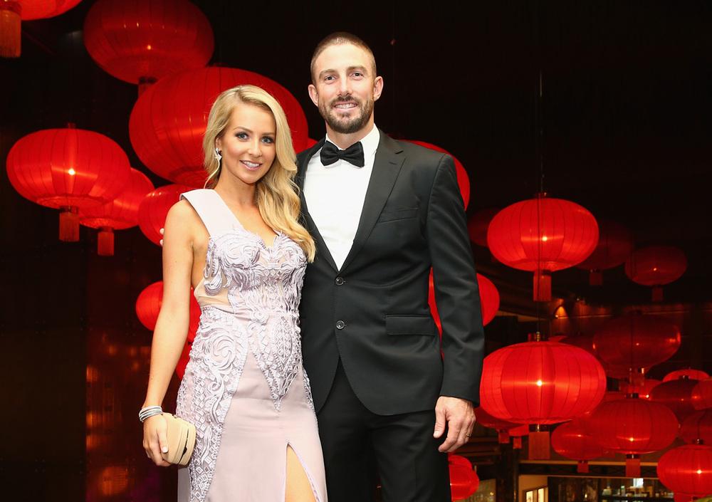 Shaun and Rebecca Marsh, dressed by Aelkemi