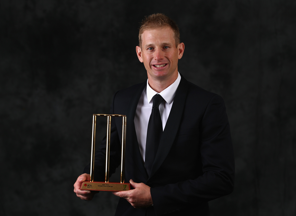 Adam Voges, Domestic Player of the Year. Getty Images.