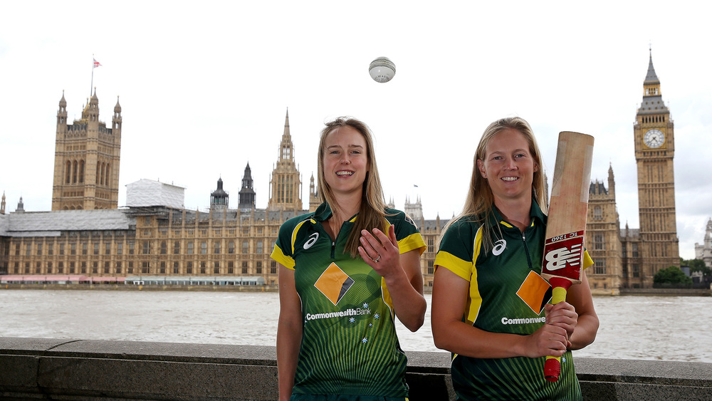 Southern Stars Captain Meg Lanning (right) and Vice Captain Ellyse Perry played a crucial role in Australia's victory during the Ashes in 2015. Photo: Getty Images.