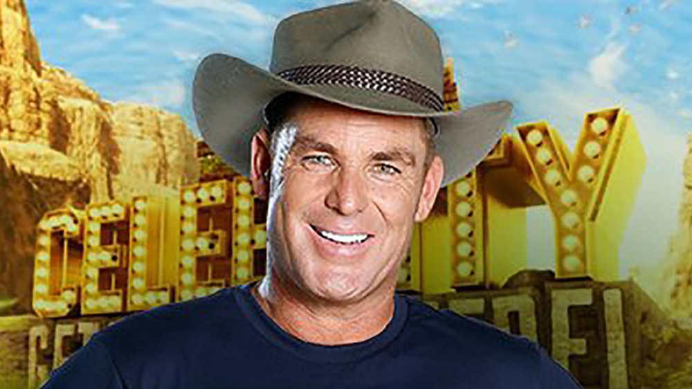 Welcome to the jungle! Spin bowler Shane Warne is the newest member of I'm A Celebrity Get Me Out Of Here Australia. Photo: Network Ten.