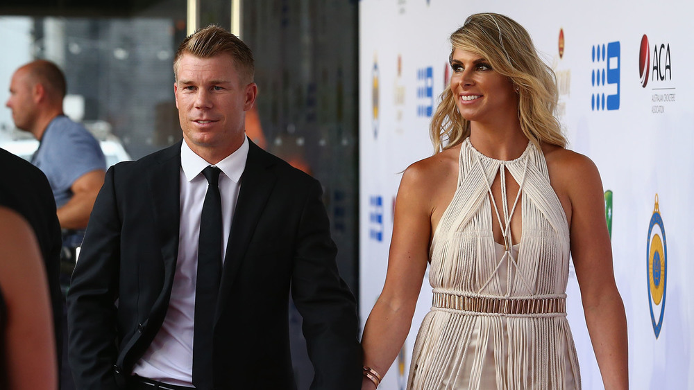 David Warner credits his dramatic lifestyle change to his wife Candice and his two daughters. Photo: Getty Images.