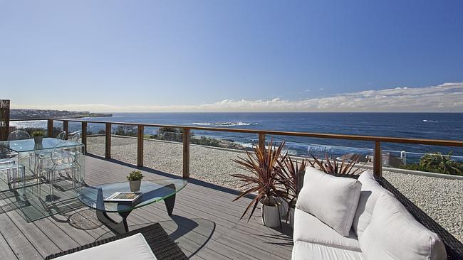 The view from the Warner's million dollar Coogee pad... not bad! Photo: Sourced.