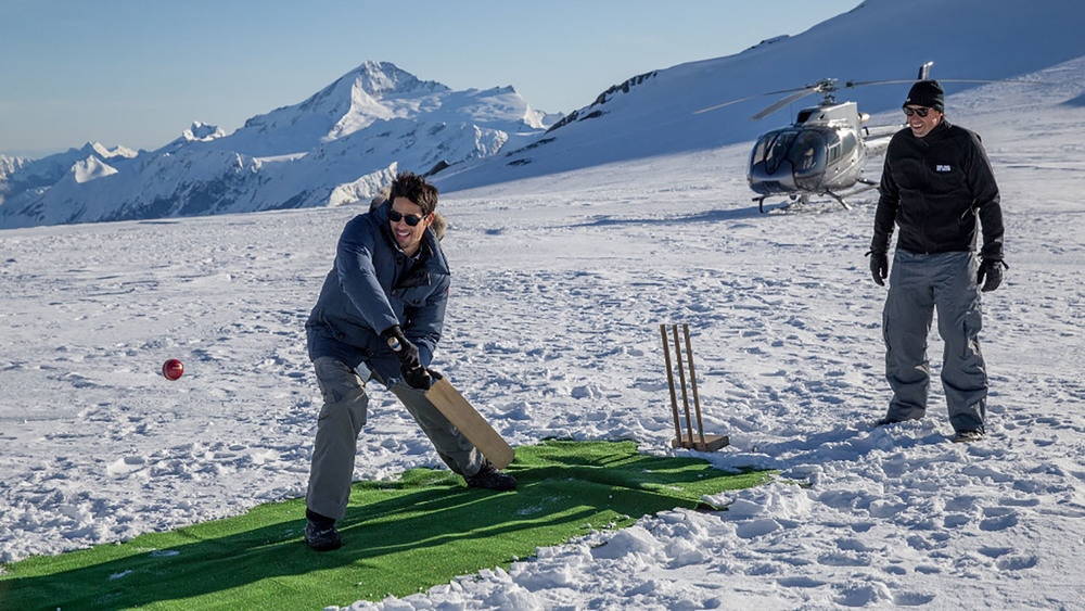 One for the bucket list. Isobel Glacier is the uptime bucket list destination for your next backyard cricket match. Photo: Tourism NZ.