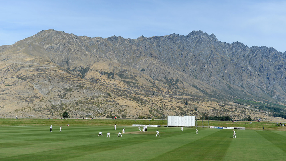 Queenstown Events Centre is known as one of the most iconic places to play a game of cricket. Photo: Getty Images.