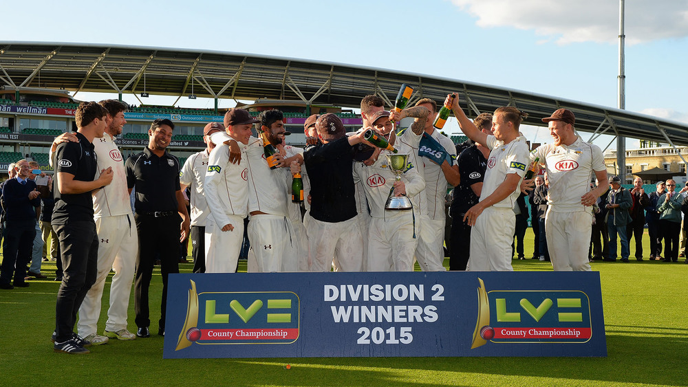 County Cricket is a popular option for many of our Aussie cricketers during the Aussie off season. Photo: Getty Images.