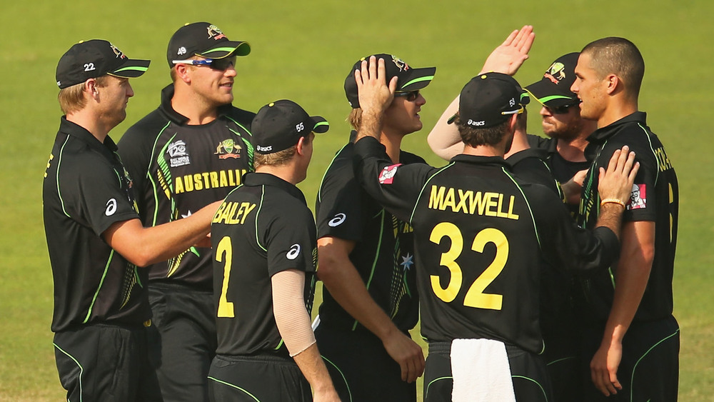 The Australian Men's Cricket Team is yet to bring home the World Cup trophy for Twenty20. Photo: Getty Images.