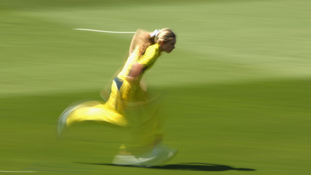 Australia's Holly Ferling. Photo: Getty Images.