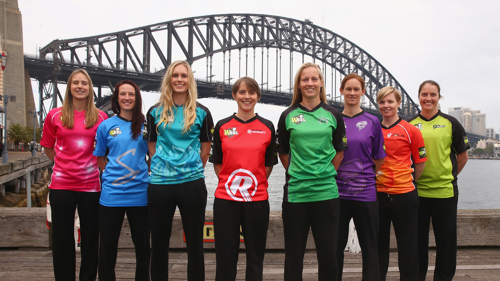 WBBL Launch. Photo: Getty Images.