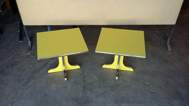 Lane Tables 15 inches high $500