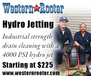 Hydro Jetting    (starting at $225)   Using 4000 pounds per square inch (psi), Hydro Jetting has the power to burst open the toughest blockages and at the same time scours the full diameter of the pipe, flushing and clearing debris.   Read More about our Hydro Jetters
