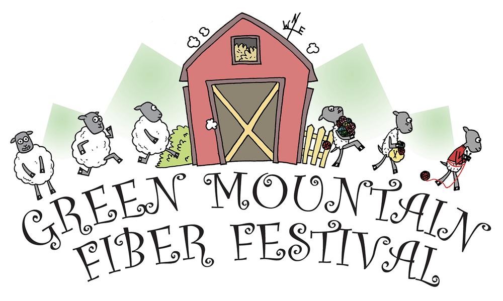 Logo, Green Mountain Fiber Festival