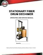 STATIONARY FIBER DECHIMER (SFD)