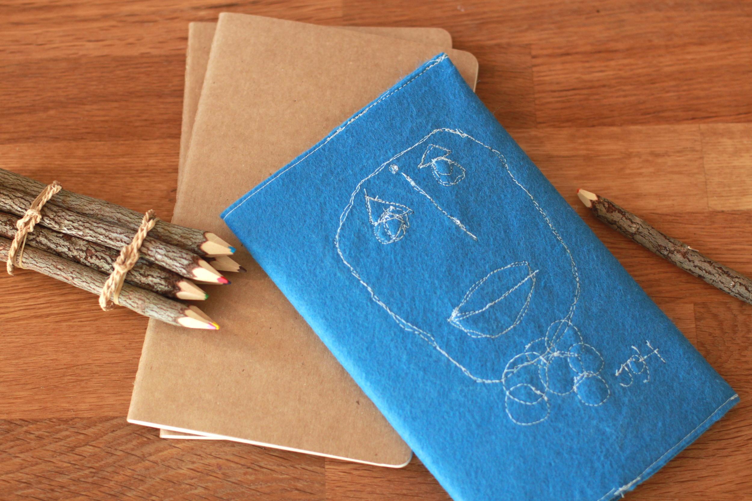 artsy sketchbook
